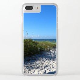 Holmes Beach Clear iPhone Case
