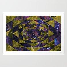 Transforming Art Print