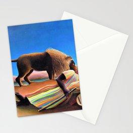 Henri Rousseau - The Sleeping Gypsy - Digital Remastered Edition Stationery Cards