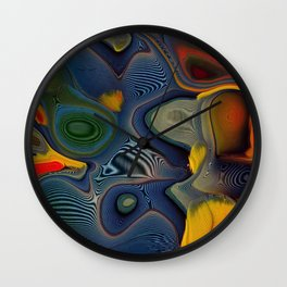 Feather Essence Wall Clock