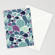 Sea pattern Stationery Cards