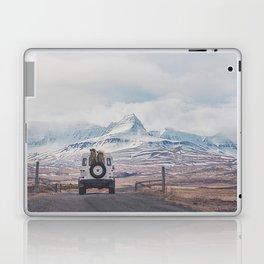 NEVER STOP EXPLORING ICELAND Laptop & iPad Skin