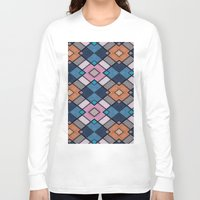 luke hemmings Long Sleeve T-shirts featuring Pattern LUKE by MehrFarbeimLeben