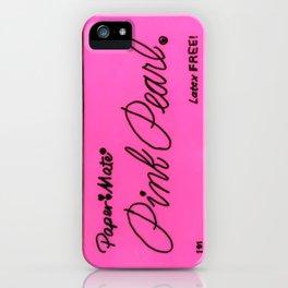 Pink Pearl Eraser iPhone Case
