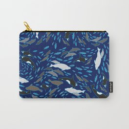 Arctic Ocean by Crow Creek Cool Carry-All Pouch