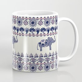 Indian Style Indie Hand Drawn Art Coffee Mug