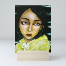 Jia (girl portrait) Mini Art Print