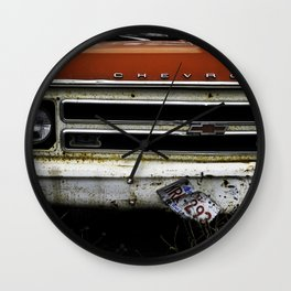 Abandon Chevy Pick-up Wall Clock