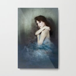 Still Your Ghost Metal Print