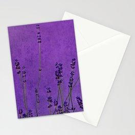 lavande danse Stationery Cards