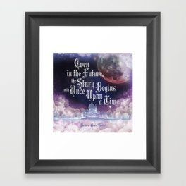 Cinder - Once Upon a Time Framed Art Print
