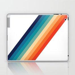 Retro 70s Stripe Colorful Rainbow Laptop & iPad Skin