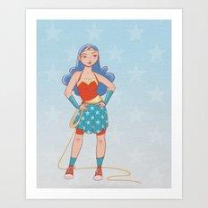 Young Wonder Art Print