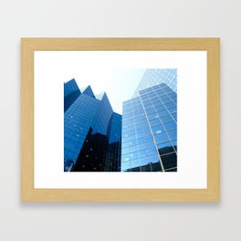 Continuation of the Sky  Framed Art Print