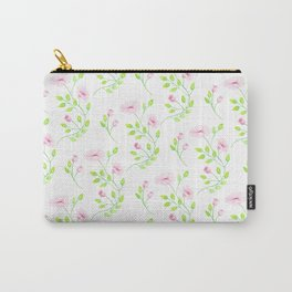 Floral (Pattern) Carry-All Pouch