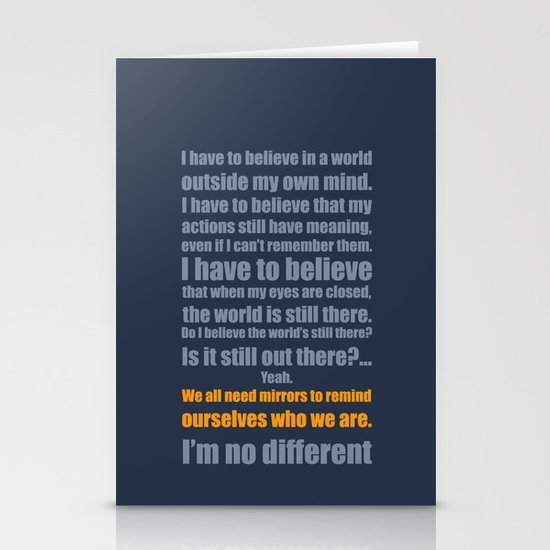 We All Need Mirrors Stationery Cards