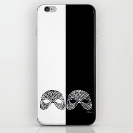 Two Sides of A Mask iPhone Skin