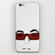 le blanc des yeux iPhone & iPod Skin