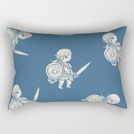 botw pattern Rectangular Pillow