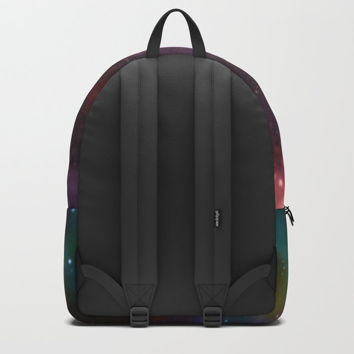 A Sprinkle Of Color in Space Backpack
