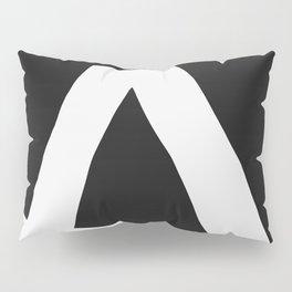 """""""A"""" Statement Pillow Sham"""