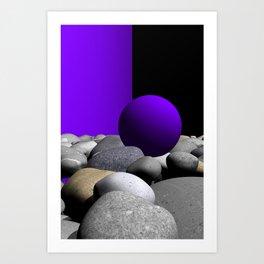go violet -09- Art Print