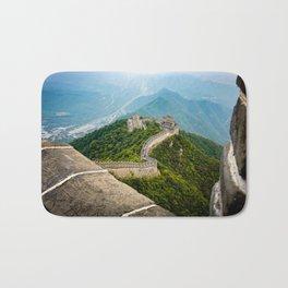 The Great wall of China Bath Mat