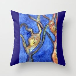 Released Souls Throw Pillow