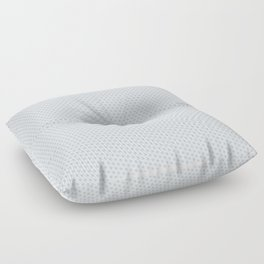 U13: grey droplet Floor Pillow