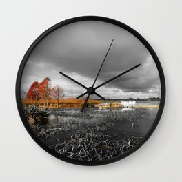 A Moody Winter's Day Wall Clock