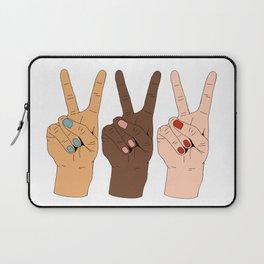 Peace Hands Laptop Sleeve