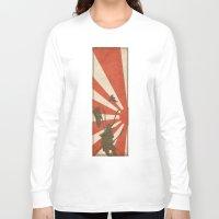 samurai Long Sleeve T-shirts featuring Samurai by Riku Forsman