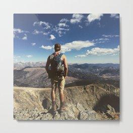 Mountain Summit Metal Print