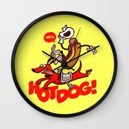 Hot Dog! Wall Clock