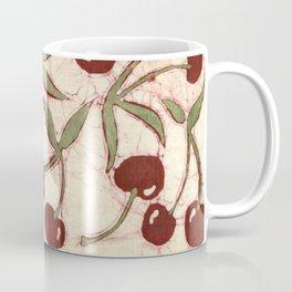Sweet Cherry Batik Coffee Mug