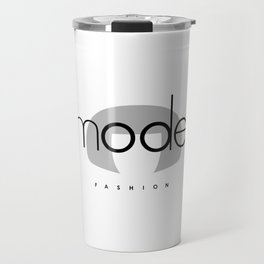 Edna Mode Fashion (logo big) Travel Mug