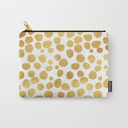 Gold Spots #society6 #decor #buyart Carry-All Pouch