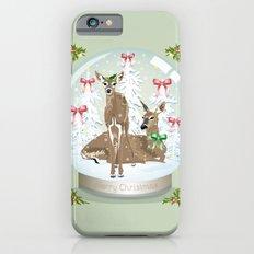 Snow globe deer Slim Case iPhone 6s