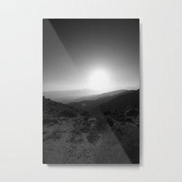 Joshua Tree Lookout #2 Metal Print