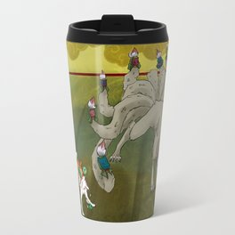 Amaterasu vs Ninetails Travel Mug