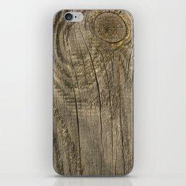 Texture #1 Wood iPhone Skin