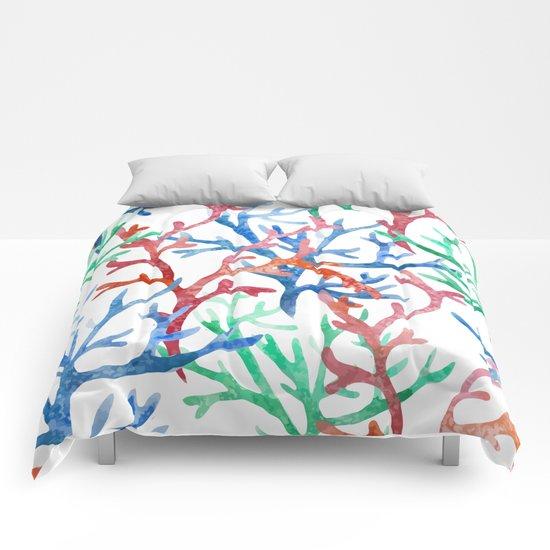 Sea Life Pattern 03 Comforters