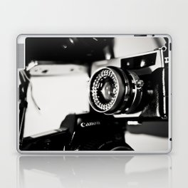 camera love b/w Laptop & iPad Skin
