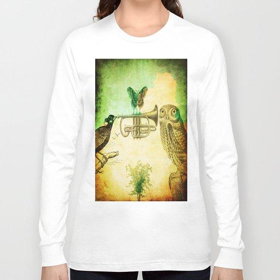 Music of birds Long Sleeve T-shirt