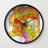 glee Wall Clocks featuring Glee by Ingrid Padilla