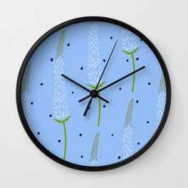 Foxtail Lily Wall Clock