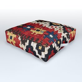 Kordi Northwest Persian Khorjin Print Outdoor Floor Cushion