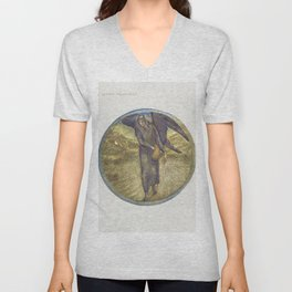 Most Bitter Moonseed from The Flower Book (1905) by Sir Edward Burne-Jones Unisex V-Neck