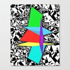 Color Sculpture Canvas Print