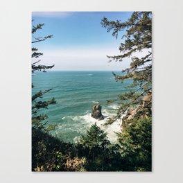 Into The Sea You & Me Canvas Print